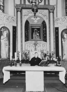 Sanktuarium Matki Bożej Wychowawczyni w latach 70 - tych XX wieku